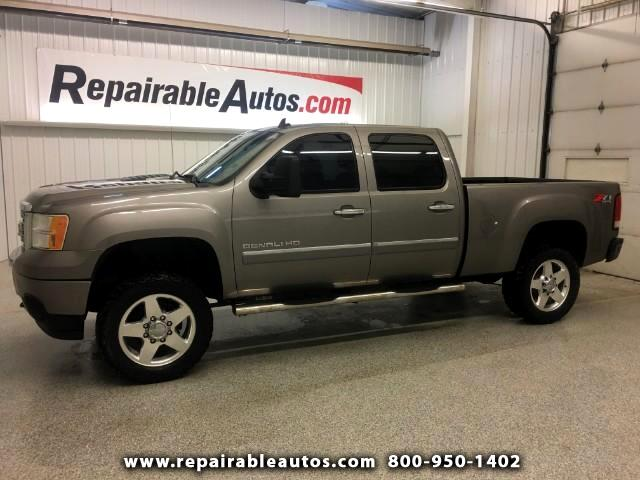2013 GMC Sierra 2500HD Denali 4WD Repairable Water Damage