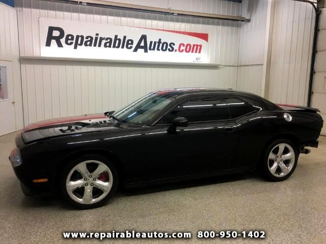 2013 Dodge Challenger SR Repairable Rear Damage