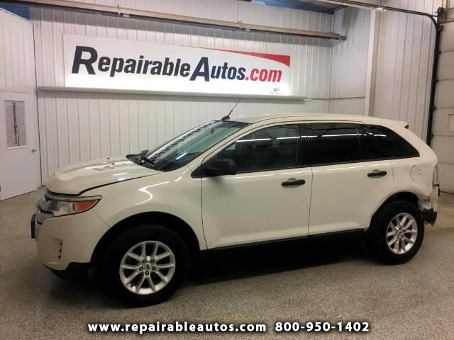 2013 Ford Edge FWD Repairable Rear Damage