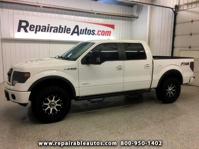 2013 Ford F-150 FX4 Crew 4WD Repairable Water Damage