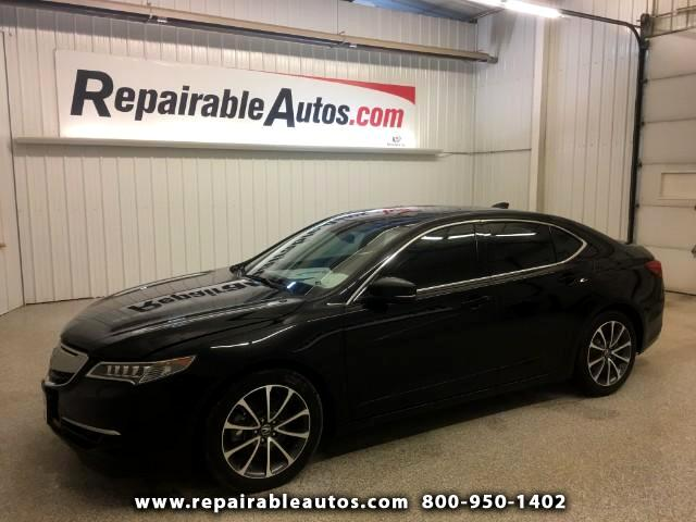 2015 Acura TLX FWD Repairable Water Damage