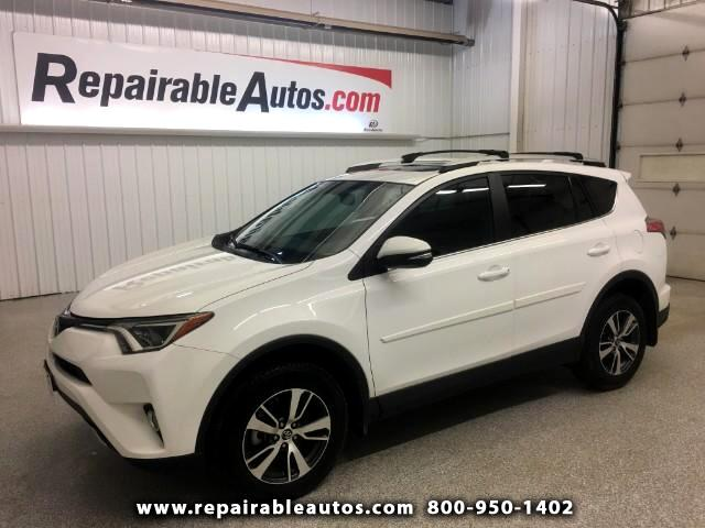 2016 Toyota RAV4 XLE FWD Repairable Water Damage