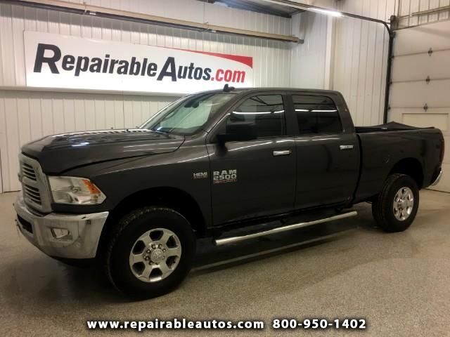 2017 RAM 2500 Lonestar 4WD Repairable Rear Damage