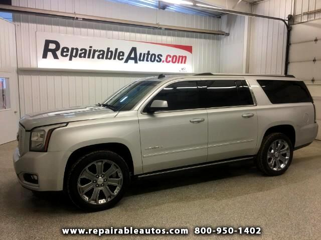 2015 GMC Yukon Denali XL 4WD Repairable Water Damage