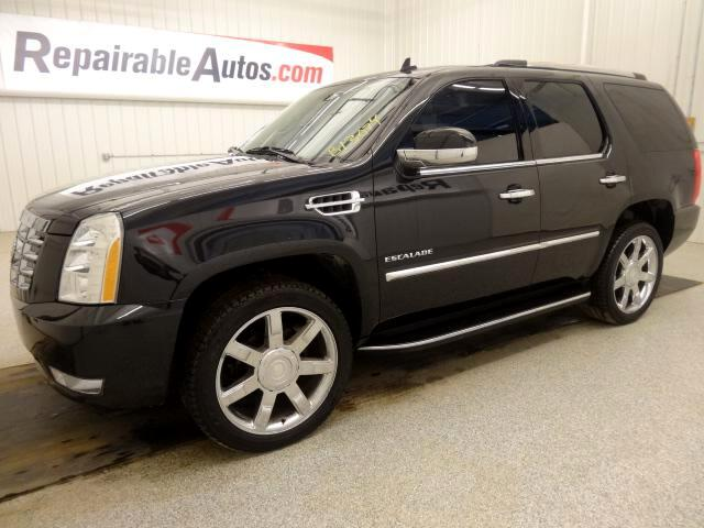 2012 Cadillac Escalade AWD Luxury REPAIRABLE WATER DAMAGE