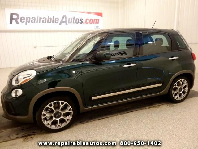 Used 2014 Fiat 500L Trekking Repairable Rear Damage for ...