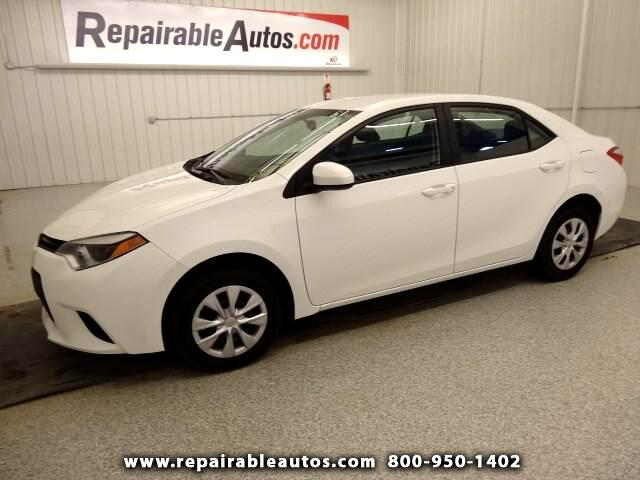 Used 2015 Toyota Corolla Repairable Water Damage for Sale ...