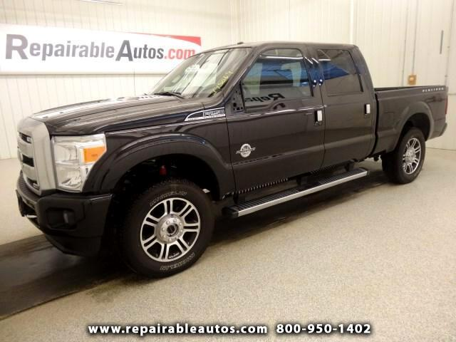 2015 Ford F-250 SD 4WD Repairable Theft Vandalism Damage
