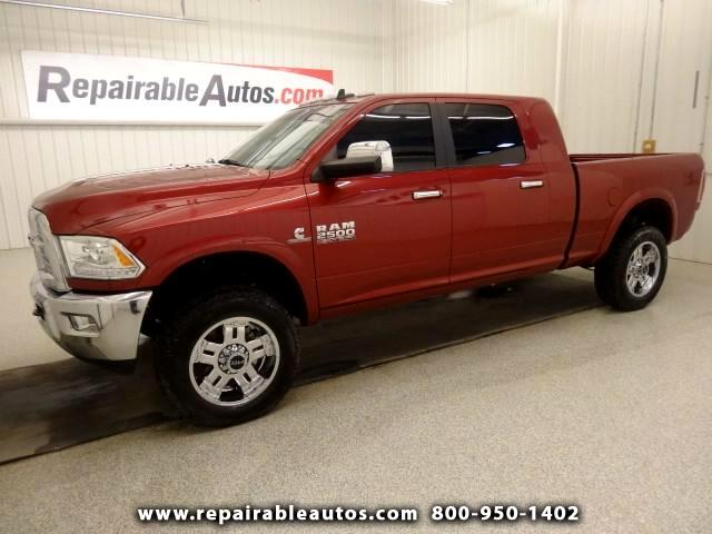 2013 RAM 2500 Laramie Mega Cab 4WD Repairable Rear Damage