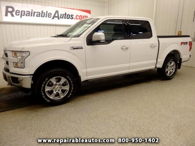 2015 Ford F-150 FX4 4WD Repaired Rear Damage
