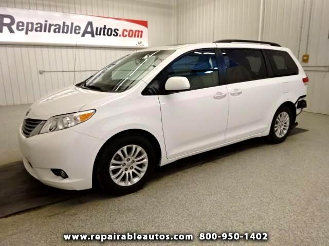 2014 Toyota Sienna XLE Repairable Rear Damage
