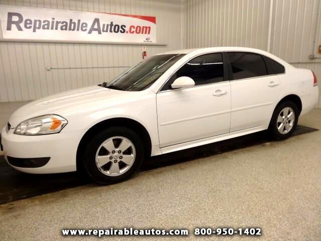 2011 Chevrolet Impala LT Repaired Rear Damage