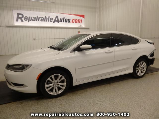2015 Chrysler 200 Limited Repairable Rear Damage
