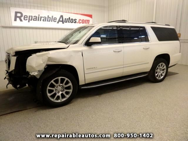 2015 GMC Yukon Denali 4WD Repairable Front Damage