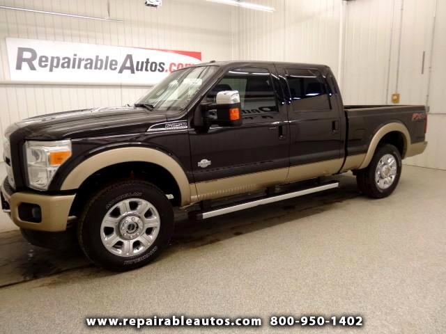 2013 Ford F-250 SD King Ranch 4WD Repaired Ready to Go