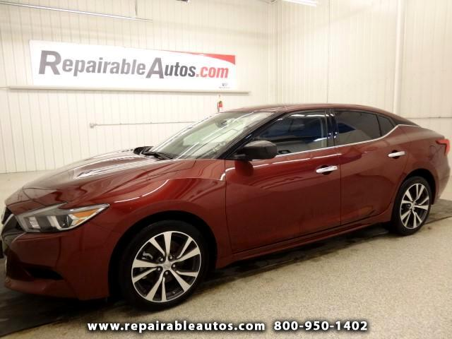 2016 Nissan Maxima 3.5 S Repairable Water Damage