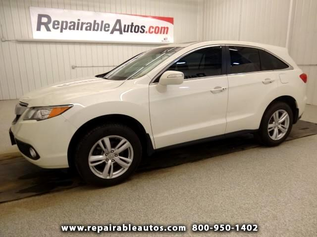 2014 Acura RDX Repairable Water Damage