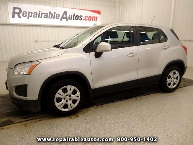 2015 Chevrolet Trax LS Repairable Water Damage