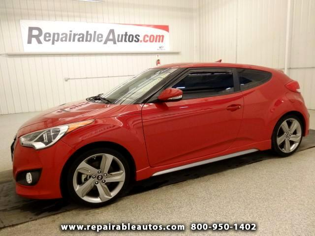 2013 Hyundai Veloster Turbo Repairable Water Damage