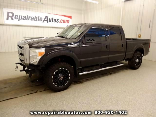 2014 Ford F-250 SD Lariat 4WD Repairable Front Damage