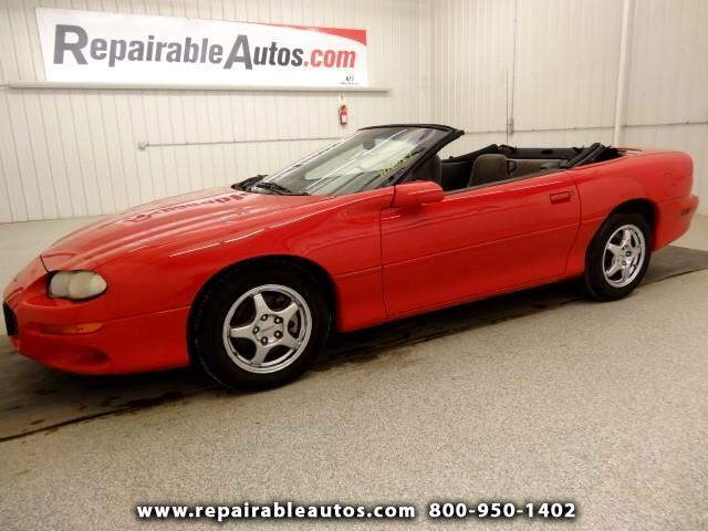 2001 Chevrolet Camaro Convertible Repairable Rear Damage