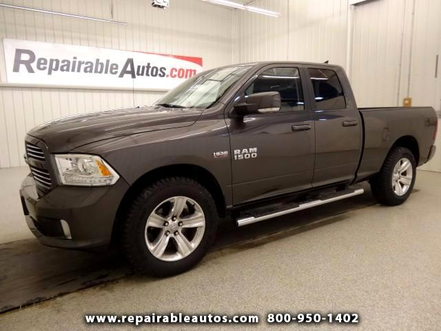 2014 RAM 1500 Sport 4WD Repaired Collision