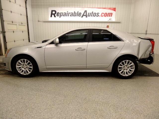 2011 Cadillac CTS  AWD Repairable Rear Damage