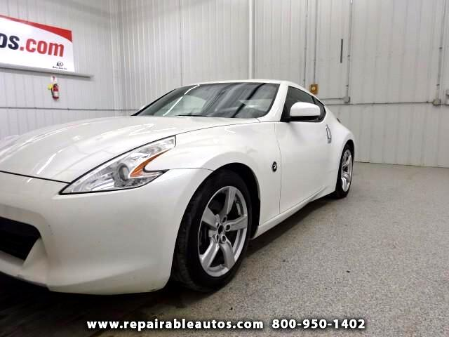 2011 Nissan Z 370Z Repairable Water Damage