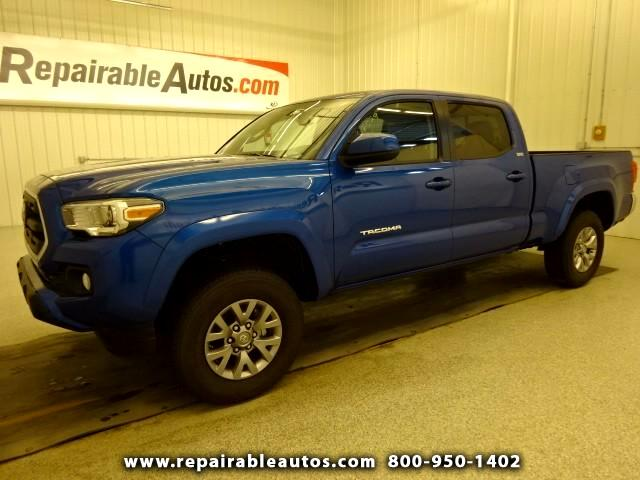 2016 Toyota Tacoma SR5 Double Cab Repairable Rear Damage