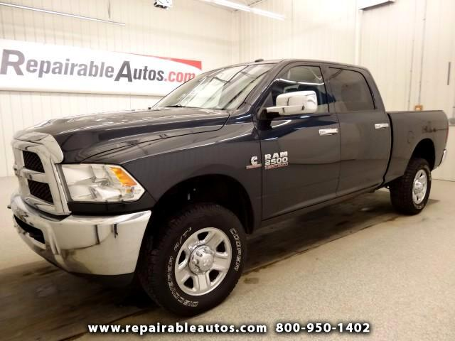 2014 RAM 2500 4WD Repaired Rear Damage