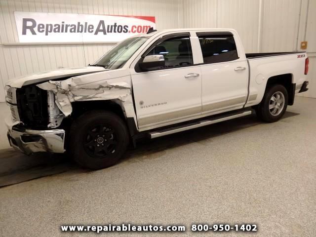 2015 Chevrolet Silverado 1500 LT Repairable Front Damage