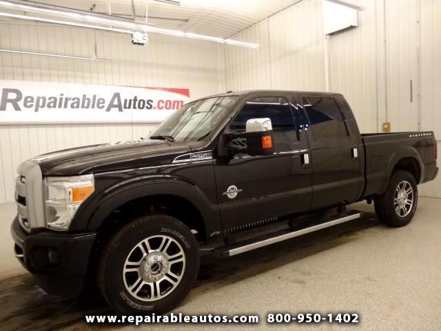 2015 Ford F-250 SD Lariat Platium Repairable Theft Damage