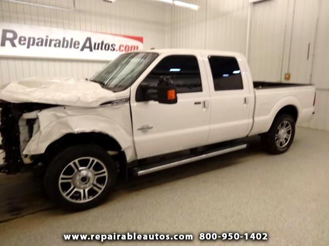 2016 Ford F-250 SD Lariat Platinum Repairable Front Damage