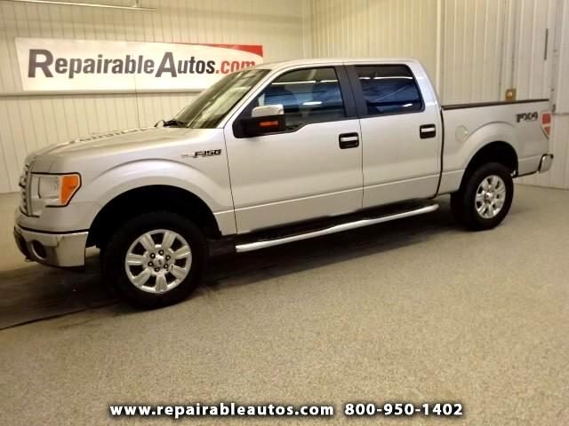 2011 Ford F-150 XLT 4X4 Repaired Front Damage