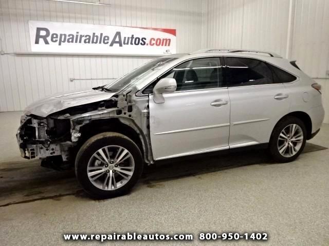 2015 Lexus RX 350 FWD Repairable Front Damage