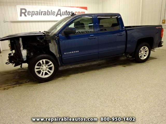 2016 Chevrolet Silverado 1500 LT 4WD Repairable Front Damage
