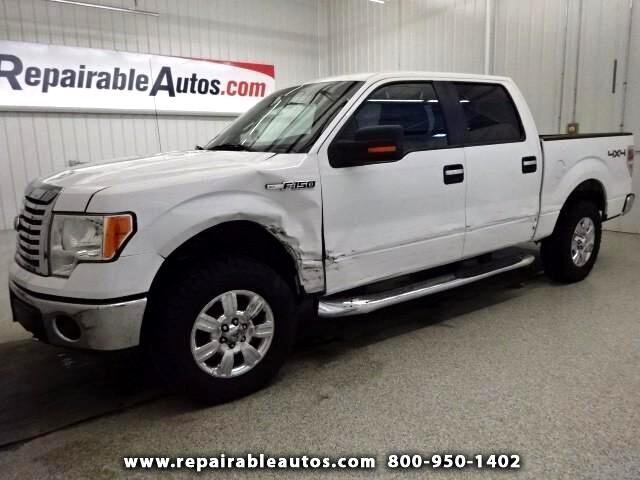 2012 Ford F-150 XLT 4WD Repairable Side Damage