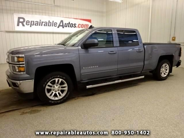 2015 Chevrolet Silverado 1500 LT Repairable Rear Damage