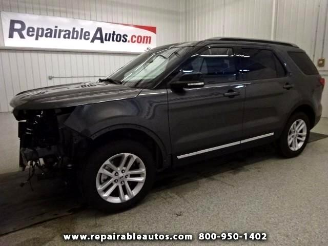 2017 Ford Explorer XLT FWD Repairable Front Damage