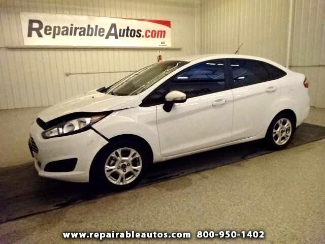 2015 Ford Fiesta SE Repairable Front Damage