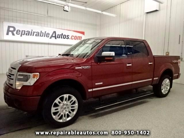2013 Ford F-150 PLATINUM Repaired Front & Rear Damage