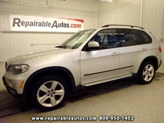 2007 BMW X5 X5 AWD Repairable Hail Damage