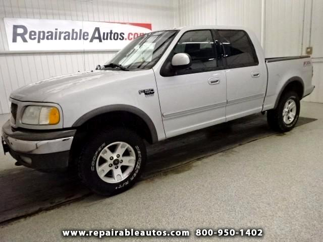 2002 Ford F-150 **XLT Repairable Hail Damage