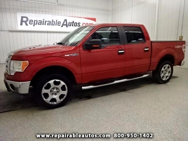 2009 Ford F-150 XLT Repairable Rear Damage