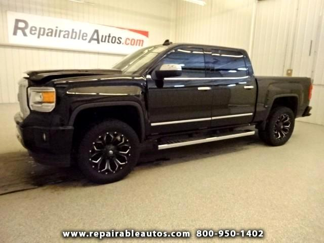 2015 GMC Sierra 1500 DENALI Repairable Front Damage