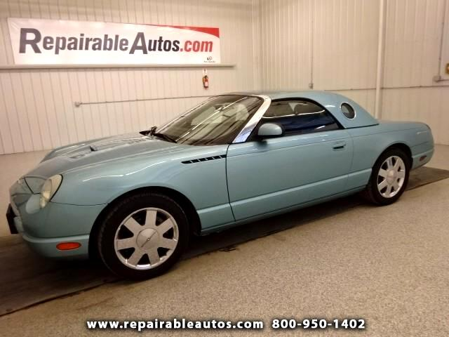 2002 Ford Thunderbird Repaired Front Damage, Ready to go