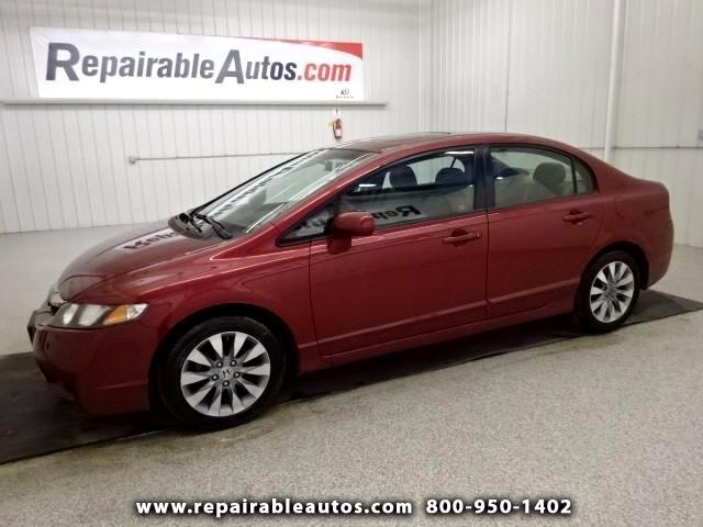 2011 Honda Civic Repairable Hail Damage