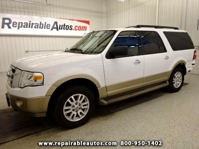 2014 Ford Expedition XLT EL Repairable Rear Damage