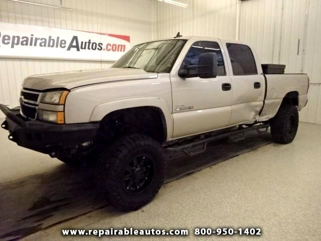 2006 Chevrolet Silverado 2500HD LT 2500 HD Repairable Rear Damage