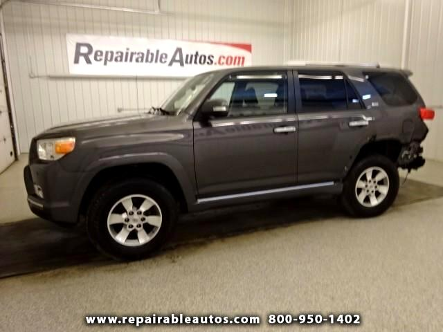 2011 Toyota 4Runner SRT 4WD Repairable Rear Damage